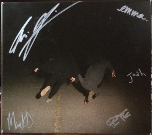Signed Past Life CD