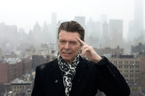 David Bowie, March 2013; photo by Jimmy King
