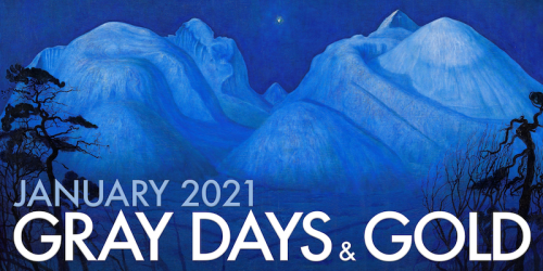 Gray Days and Gold January 2021